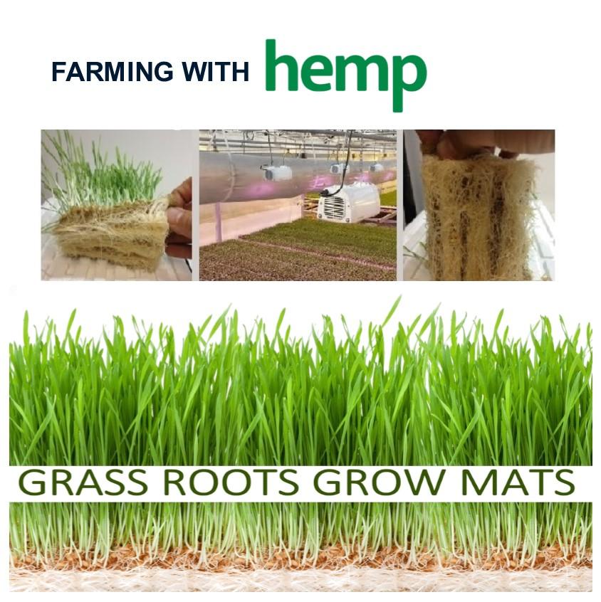 grass roots grow mats